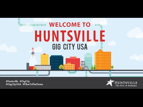 Huntsville Utilities to build a fiber network throughout the City