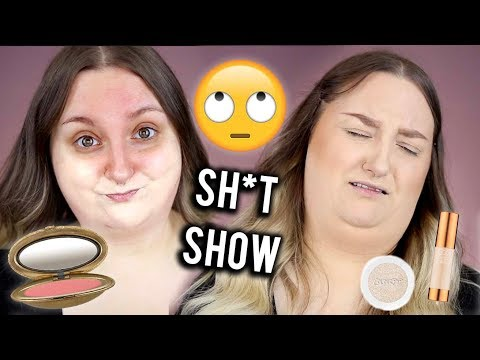 OMG WHAT A SH*T SHOW   FULL FACE FIRST IMPRESSIONS   SEPHORA COLOURPOP,  EX1, MAC + MORE!