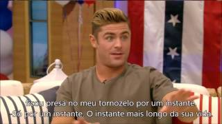 Entrevista com Zac Efron - Live with Kelly!
