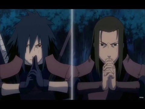 Madara Uchiha vs Hashirama Senju First Hokage Full Fight Naruto Shippuden