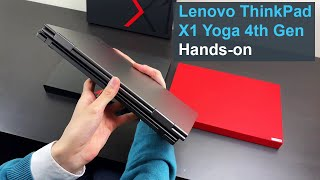 Lenovo ThinkPad X1 Yoga 4th Gen (4K) Hands-on