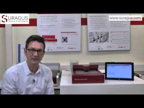 Non-Contact Sheet Resistance Measurement Device SURAGUS EddyCus TF lab 2020