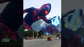 Paling Seru Ultraman Jahat Vs Ultraman Ginga Dj Go Go U Lala Bad Romance Tiktok Viral