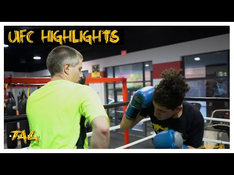 UFC Highlight At UFC Gym Alexandria With Chris Aboy