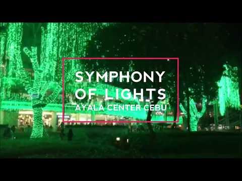 Ayala Center Cebu Symphony of Lights 2017