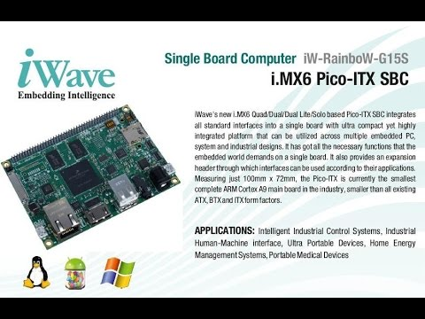 Latest Updates on i MX6   iWave Systems