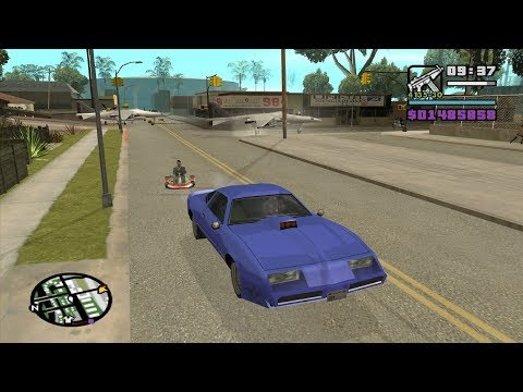 Rainbomizer - GTA San Andreas - Ryder - The Beginning Mission 3