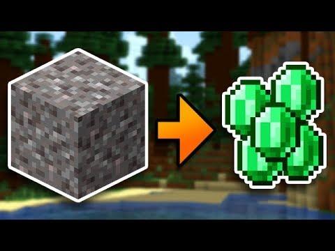 Unlimited Emeralds In Minecraft Survival (#11)
