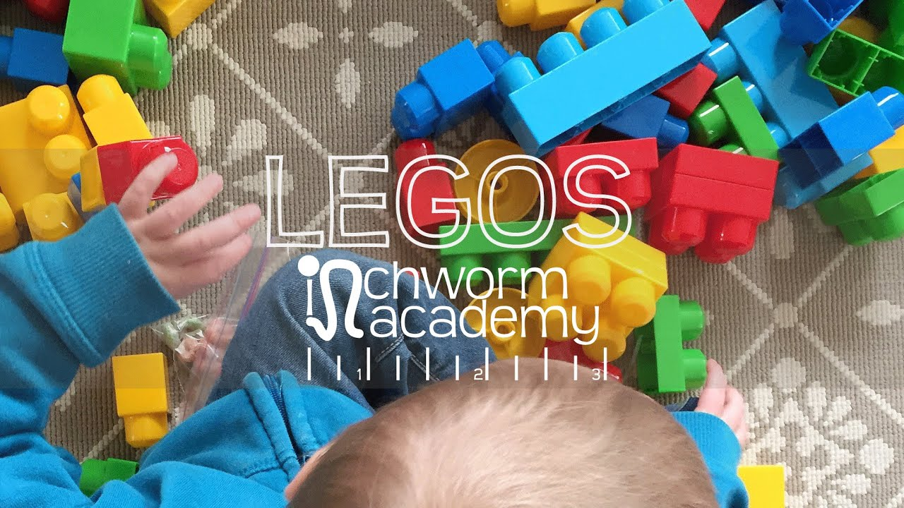 Using Legos or Mega Blocks with Toddlers