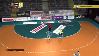 Handball 16 (PS3) - Local play / Liga ASOBAL / BM Aragon versus Villa de Aranda