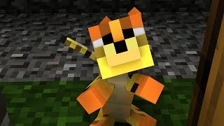 Herobrine's Cat - Herobrine Animation, Minecraft