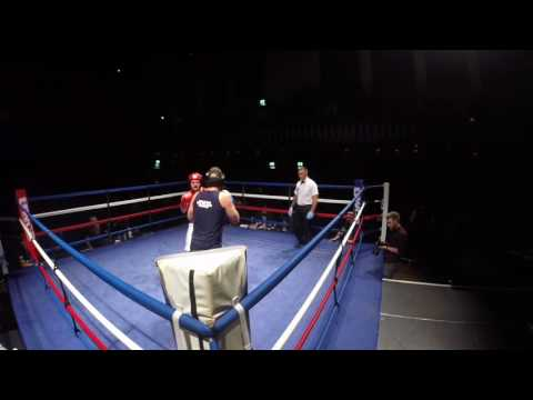 Ultra White Collar Boxing | Scunthorpe | Benj Astley VS Martin Stamp
