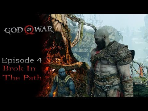 God of War Walkthrough Gameplay Ep 4 A Brok In The Path