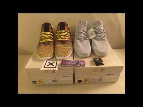 c49851590 Quick Unboxing Pharrell Williams x Adidas Tennis HU  XHIBITION   Pharrell   adidasoriginals