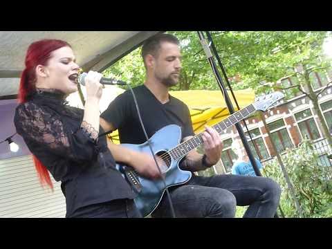 Zora Cock with Bart_P1760219 Live acoustic [Preuvenement Assen_NL 2017]