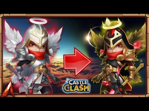 Castle Clash Evolving Michael!!