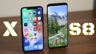 iPhone X vs Samsung Galaxy S8: Full Comparison