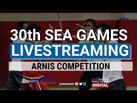 LIVESTREAM: SEA Games 2019: Arnis Competition Day 2 (Part 2)   Replay