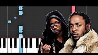 2 Chainz - Momma I Hit A Lick ft Kendrick Lamar (Piano Tutorial)