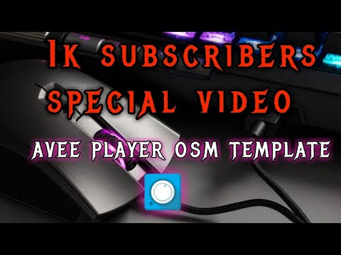 new-avee-player-template-download-link-||-avee-player-osm-template-||-thanks-for-1k-subscribers