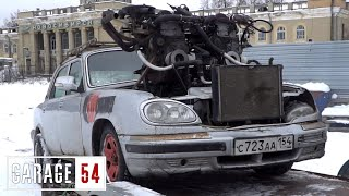 САМОДЕЛЬНЫЙ V12 - ПЕРВЫЙ ЗАПУСК / ВЫЕЗД