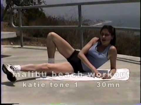 malibu beach workout- 30mn katie tone  malibu