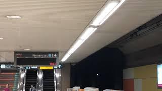 目黒線大岡山駅、不動前駅、人身事故に伴うアナウンス。