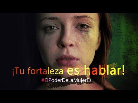¡Tu fortaleza no es resistir, tu fortaleza es hablar! #ElPoderDeLaMujerEs