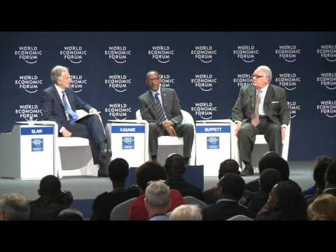 President Kagame speaks on ownership during the World Economic Forum on AfricaMay 2016