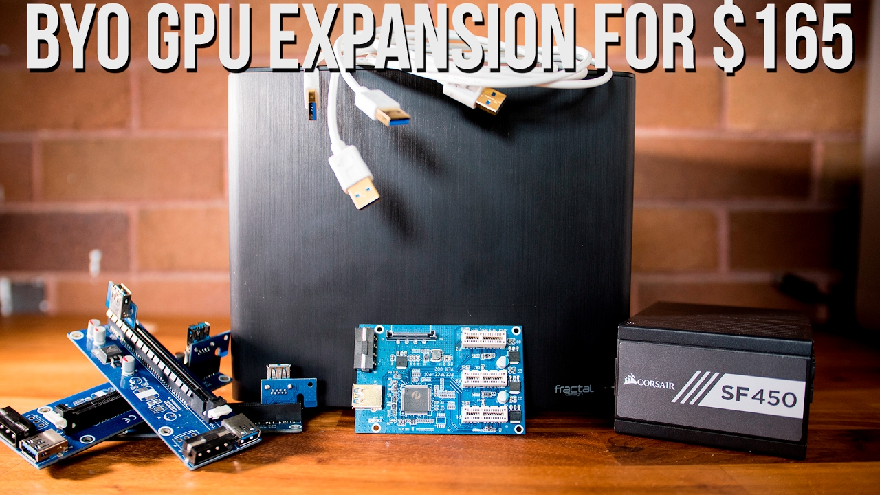 BYO GPU Expansion for $165 - Octane Render / Redshift / Blender Cycles /  CUDA