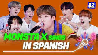 MONSTA X sings in SpanishㅣShoot Out, Follow, FantasiaㅣTry-lingual Live