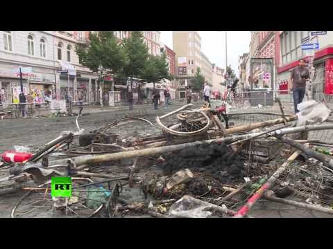 Hamburg wakes up destroyed after night of G20 clashes