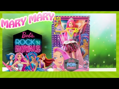 видео: Барби Рок Принцесса по имени Кортни Красивая и поющая кукла с розовыми волосами