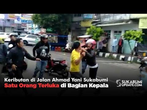 Keributan Di Jalan Ahmad Yani Sukabumi, Satu Orang Terluka Di Bagian Kepala