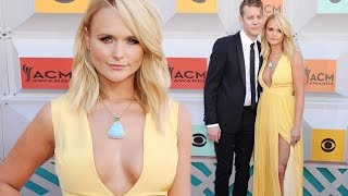Miranda Lambert first red carpet appearance boyfriend Anderson East at ACMs