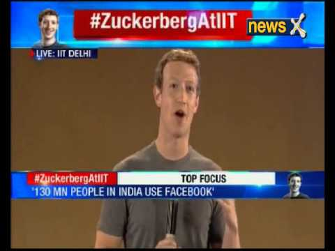 'Access to Internet will help in Education sector': Mark Zuckerberg