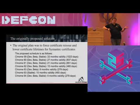 DEF CON 25 Crypto and Privacy Village - Jake Williams -The Symantec SSL Debacle Lessons Learned