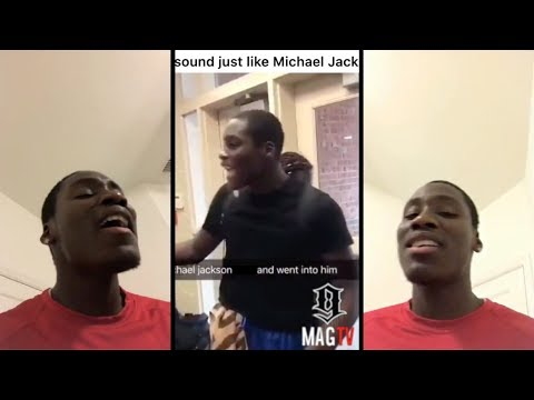 Viral Teen Who Sound Just Like Michael Jackson Sings On IG Live! 🎶