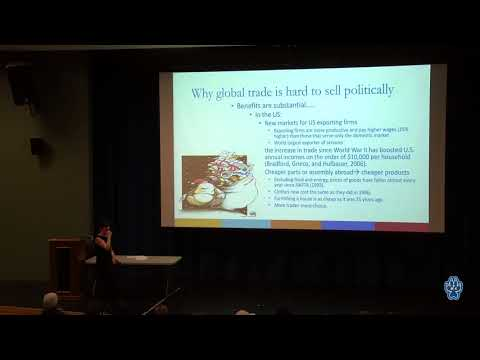 An Economist's Take on Globalization - February 21, 2018 - Dr. Florence Bouvet