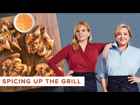 Master Grilling with Recipes Like Thai Cornish Hens and Pita Stuffed with Lamb