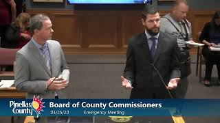 Board Of County Commissioners Emergency Meeting - 3/25/20