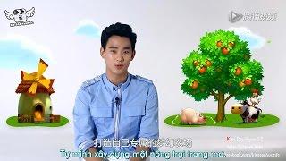 [Vietsub] [CF] Kim Soo Hyun vorstellen Tencent QFarm Spiel