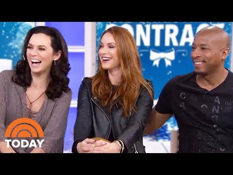 'One Tree Hill' Stars Reunite For New Christmas Movie | TODAY
