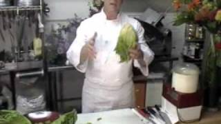 Chop Chop Cut! The Art of Chopping Romaine Lettuce