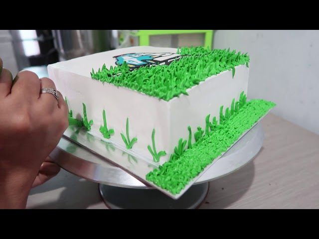 Cara Menghias Kue Ultah Sederhana Anak Laki Laki Karakter Robocar Poli