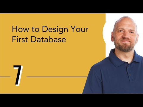 How To Design Your First Database