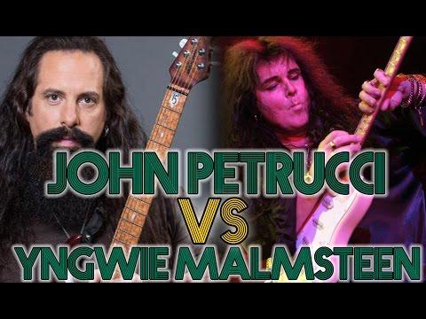 Yngwie Malmsteen VS John Petrucci - Backstage Licks