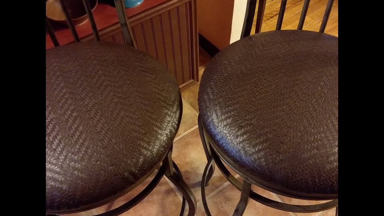 How To Recover Round Bar Stool Seats