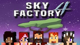 """TEDY NEVER LISTENS!"" SKYFACTORY 4 w/ HEATHER,HALIEE,SARAH&SNOOP #22"