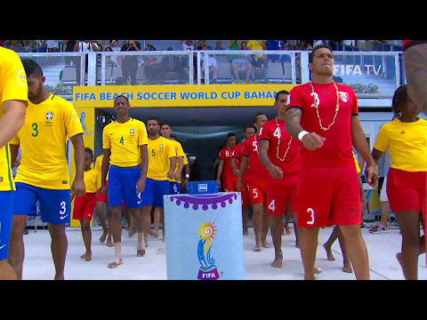 Match 32: Brazil v Tahiti  FIFA Beach Soccer World Cup 2017